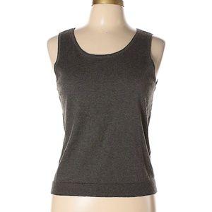 Ralph Lauren Gray Sweater Shell PL